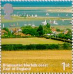 A British Journey - England 1st Stamp (2006) Brancaster, Norfolk Coast, East of England