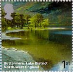A British Journey - England 1st Stamp (2006) Buttermere, Lake District, North-West England