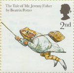 Animal Tales 2nd Stamp (2006) The Tale of Jeremy Fisher' from Beatrix Potter's books