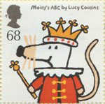 Animal Tales 68p Stamp (2006) Maisey's ABC by Lucy Cousins