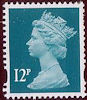 Definitive - Pricing in Proportion  12p Stamp (2006) Greenish Blue