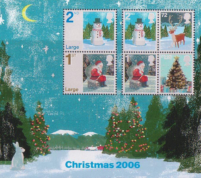 Christmas 2006 Collect Gb Stamps