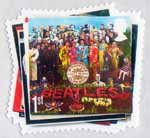 The Beatles 1st Stamp (2007) Sgt Peppper's Lonely Hearts Club Band