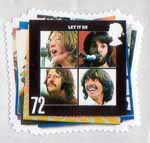 The Beatles 72p Stamp (2007) Let It Be
