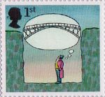 World of Invention 1st Stamp (2007) Bridges