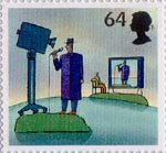 World of Invention 64p Stamp (2007) Television