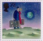 World of Invention 72p Stamp (2007) Space Travel