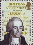 The Abolition of the Slave Trade 1st Stamp (2007) William Wilberforce