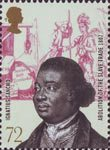 The Abolition of the Slave Trade 72p Stamp (2007) Ignatius Sancho