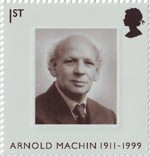 The Machin Definitives 1st Stamp (2007) Arnold Machin 1911-1999