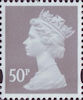 Definitive 50p Stamp (2007) Light Grey