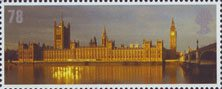 Celebrating England 78p Stamp (2007) Houses of Parliament
