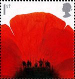Lest We Forget 1st Stamp (2007) Lest We Forget - Poppy