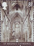 Cathedrals 81p Stamp (2008) S. Magnus, Orkney