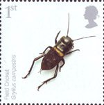 Endangered Species - Insects 1st Stamp (2008) Field Cricket