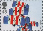 Air Shows 48p Stamp (2008) The RAF Falcons