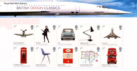 Design Classics 2009 Collect Gb Stamps