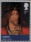 House of Stewart 1st Stamp (2010) James I  (1406-1437)