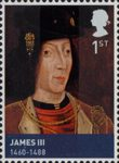 House of Stewart 1st Stamp (2010) James III (1460-1488)