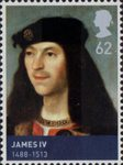 House of Stewart 62p Stamp (2010) James IV (1488-1513)