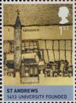 House of Stewart 1st Stamp (2010) St Andrews - 1413 University Founded
