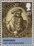 House of Stewart 81p Stamp (2010) John Knox - 1559 Reformation