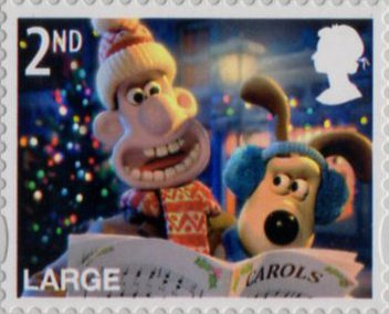 Christmas with Wallace and Gromit (2010) : Collect GB Stamps