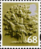 New Tariff - Regional Definitives 68p Stamp (2011) Oak Tree