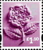 New Tariff - Regional Definitives �1.10 Stamp (2011) Rose