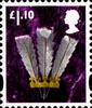 New Tariff - Regional Definitives £1.10 Stamp (2011) Three Feathers