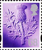 New Tariff - Regional Definitives 68p Stamp (2011) Thistle