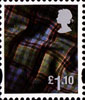 New Tariff - Regional Definitives �1.10 Stamp (2011) Tartan