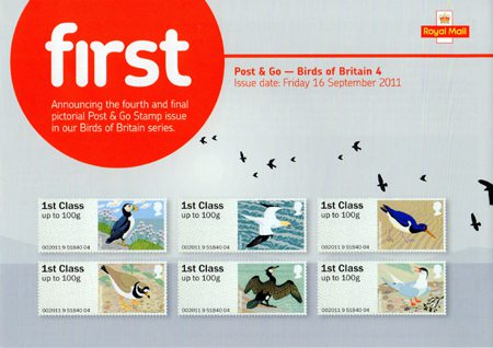 Post & Go - Birds of Britain IV (2011)