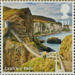 A to Z of Britain, Series 1 1st Stamp (2011) Carrick-a-Rede