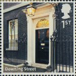 A to Z of Britain, Series 1 1st Stamp (2011) Downing Street