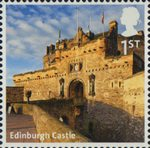 A to Z of Britain, Series 1 1st Stamp (2011) Edinburgh Castle