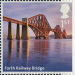 A to Z of Britain, Series 1 1st Stamp (2011) Forth Railway Bridge
