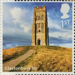 A to Z of Britain, Series 1 1st Stamp (2011) Glastonbury Tor