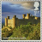 A to Z of Britain, Series 1 1st Stamp (2011) Castell Harlech Castle