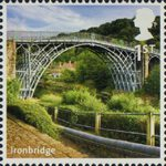 A to Z of Britain, Series 1 1st Stamp (2011) Ironbridge