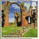 A to Z of Britain, Series 1 1st Stamp (2011) Lindisfarne Priory