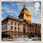UK A-Z (Part 2) 1st Stamp (2012) Old Bailey
