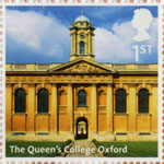 UK A-Z (Part 2) 1st Stamp (2012) The Queens College Oxford