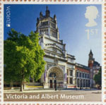 UK A-Z (Part 2) 1st Stamp (2012) Victoria and Albert Museum