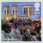 UK A-Z (Part 2) 1st Stamp (2012) York Minster