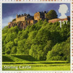 UK A-Z (Part 2) 1st Stamp (2012) Stirling Castle