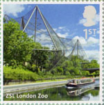 UK A-Z (Part 2) 1st Stamp (2012) ZSL London Zoo