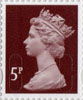 Definitives - Revised Colours 5p Stamp (2013) 5p Iridescent