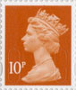 Definitives - Revised Colours 10p Stamp (2013) 10p Iridescent