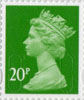 Definitives - Revised Colours 20p Stamp (2013) 20p Iridescent
